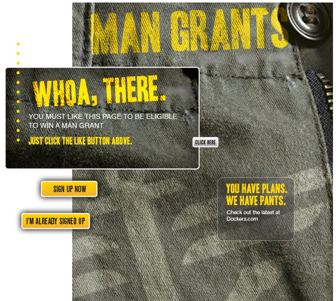 Dockers Man Grants